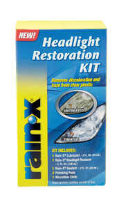 Rain-X  Sealed Beam  Headlight Restoration Kit  1 pk