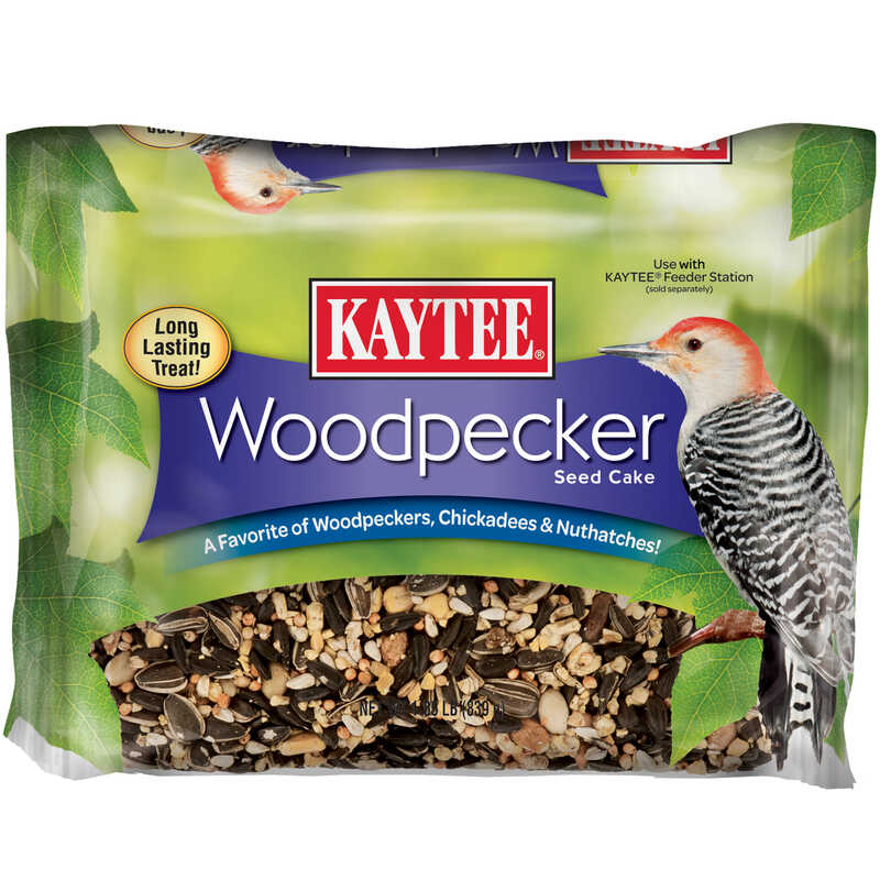 Kaytee  Chickadee  Wild Bird Seed Cake  Sunflower Seeds and Peanuts  1.85 lb.