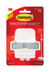 3M  Command  Large  Plastic  Gripper  3-1/3 in. L 1 pk