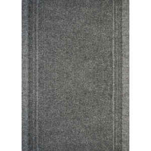 Multy Home  Tracker  Nonslip 26  W x 60  L Gray  Carpet Runner
