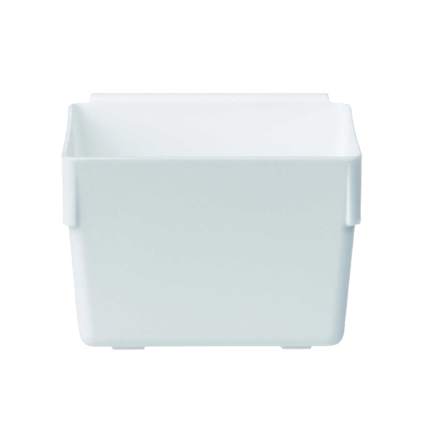 Rubbermaid  2 in. H x 3 in. W x 3 in. L White  Plastic  Drawer Organizer