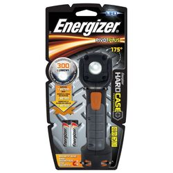 Energizer  HardCase  300 lumens Black  LED  Flashlight  AA Battery
