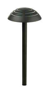 Paradise Lighting  Lavelle  Black  LED  Pathway Light  6  Plug In