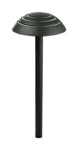 Paradise Lighting  Lavelle  Black  Plug In  Pathway Light  6  LED