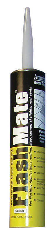 Amerimax  FlashMate Sealant  12 in. H x 2 in. W x 2 in. L Clear  Cylinder  Threshold Sealer  Metal/P