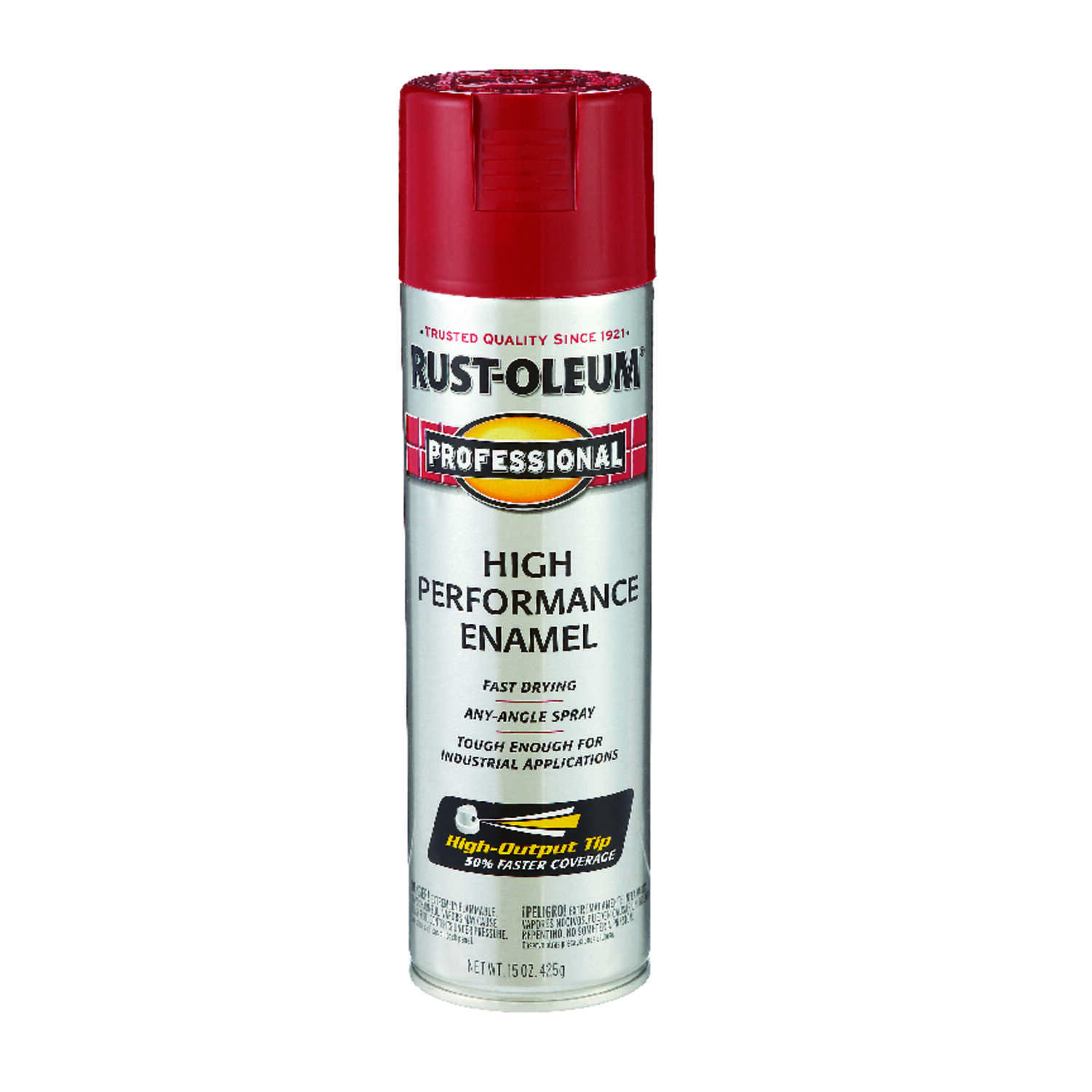 Rust-Oleum  Professional  Regal Red  Spray Paint  15 oz.
