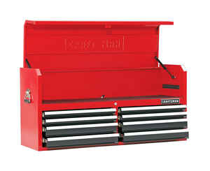 Craftsman  52 in. 8 drawer Top Tool Chest  24.5 in. H x 18 in. D Steel  Red