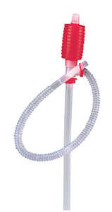 American Wick  Hand Operated  Plastic  24 in. Siphon Pump