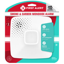 First Alert  Hard-Wired  Electrochemical/Photoelectric  Smoke and Carbon Monoxide Detector