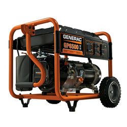 Generac  6500 watts Orange  Portable Generator