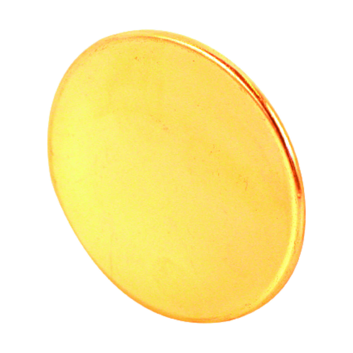 Prime-Line  Bright Brass  Steel  Knob  Right or Left Handed