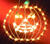 Impact Innovations  Small Pumpkin Silhouette  Lighted Halloween Decoration  14.00 in. H x 14-1/2 in.