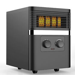 Soleil  1500 BTU/hr. 200 sq. ft. Infrared  Electric  Heater