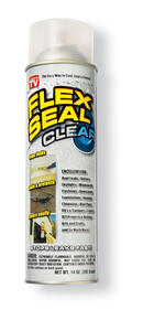 Flex Seal  Satin  Clear  Rubber Spray Sealant  14 oz.