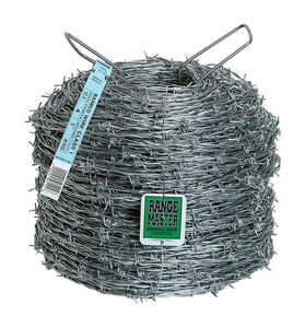 Deacero  1320 ft. L 12 Ga. 4-point  Galvanized Steel  Barbed Wire