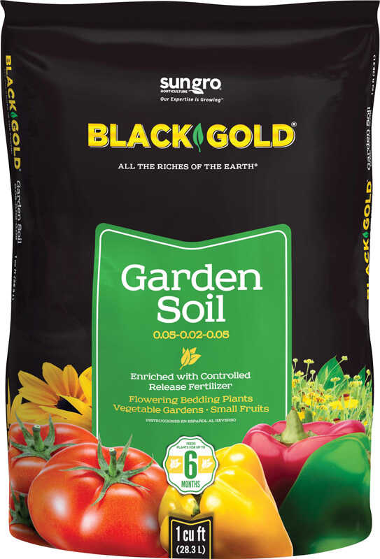 Black Gold  Garden Soil  1 cu. ft.