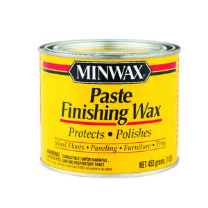 Minwax  Lustre  Finishing Wax  Paste  1 lb.