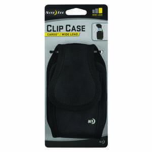 Nite Ize Clip Case Cargo Black Cell Phone Case Universal