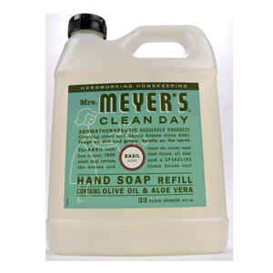 Mrs. Meyer's  Clean Day  Organic Basil Scent Hand Soap Refill  33 oz.