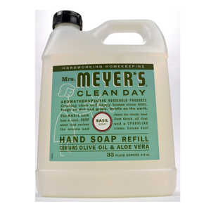 Mrs. Meyer's Clean Day 33 oz. Liquid Hand Soap Basil Scent Refill