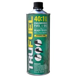TruFuel  40:1  2 Cycle Engine  Premium Synthetic  Premixed Gas and Oil  32