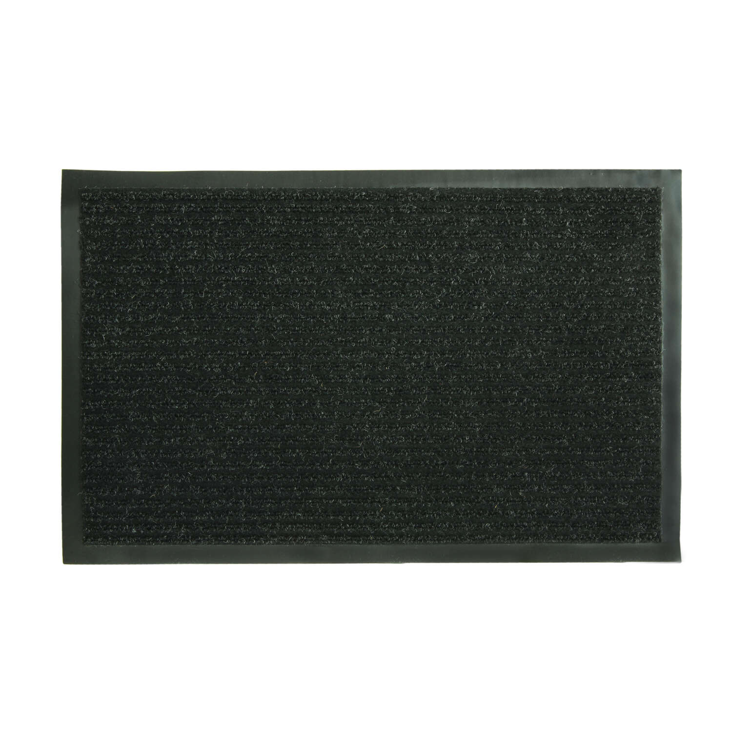 Sports Licensing Solutions  Fanmats  Ribbed  Black  Polypropylene/Vinyl  Nonslip Utility Mat  28 in.
