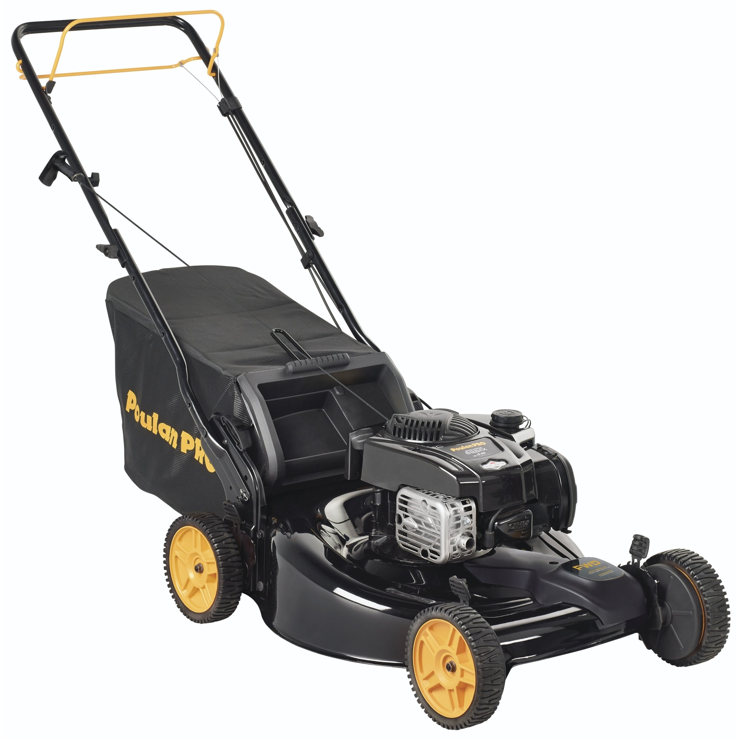 Poulan Pro  22 in. W 140 cc Self-Propelled  Mulching Capability Lawn Mower