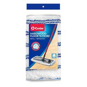 O-Cedar  Floor 'N More  12 in. W Microfiber  Mop