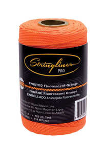 Stringliner  Orange  1/2 lb. Chalk Line Refill  540 ft. Twisted