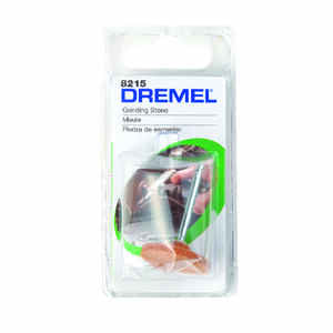 Dremel  1 in. Dia. x 1 in. L Aluminum Oxide  Grinding Stone  Cylinder  35000 rpm 1 pc.