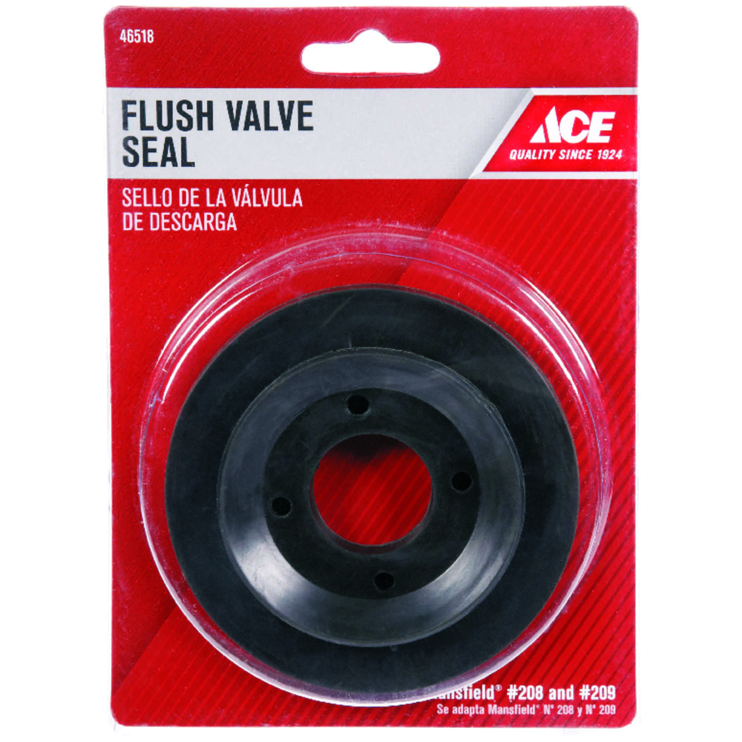 Ace  Flush Valve Seal  Plastic  For Mansfield