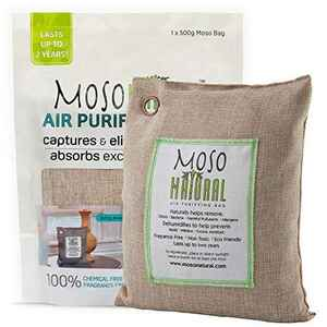 Moso Natural  No Scent Air Purifying Bag  500 gm Powder