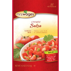 Mrs. Wages Salsa Tomato Mix 4 oz. 1 pk