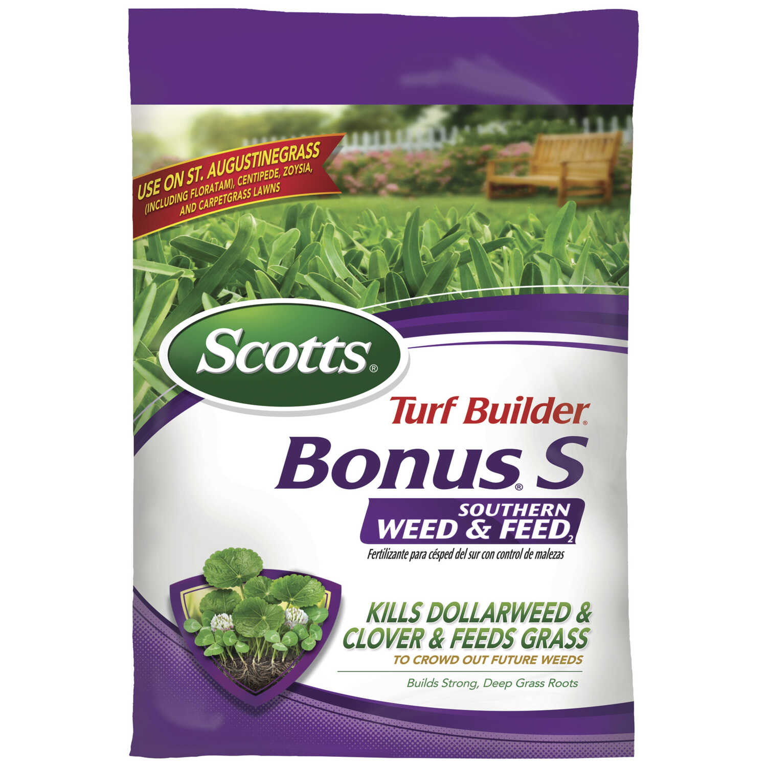 Scotts  Green Max  27-0-2, 29-0-10  Lawn Fertilizer  For Southern 26 lb. 5000 sq. ft.