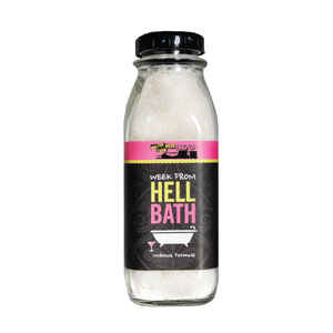 Walton Wood Farm  Bath Events Week From Hell  Lemon Scent Bath Salts  16 oz. 1 pk