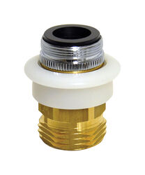 Danco Dual Thread 15/16 in.-27 or 55/64 in. Chrome Plated Aerator Adapter