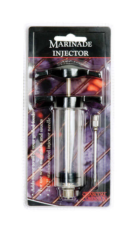 Charcoal Companion  Stainless Steel  Marinade Injector
