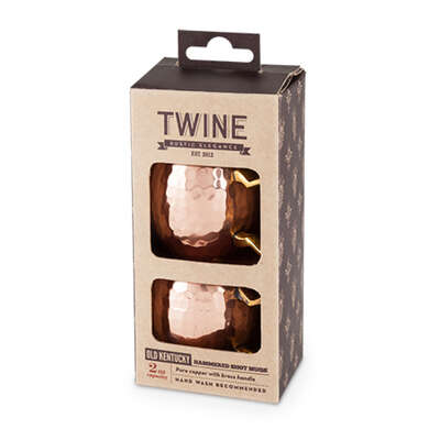 Twine 2 oz. Copper Stainless Steel Shot Glass