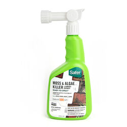 Safer Brand  Organic Liquid  Moss & Algae Killer  32 oz.