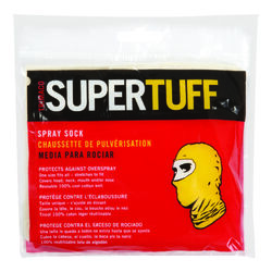 Trimaco  SuperTuff  Cotton  Spray Sock  Natural  One Size Fits All  1 pk