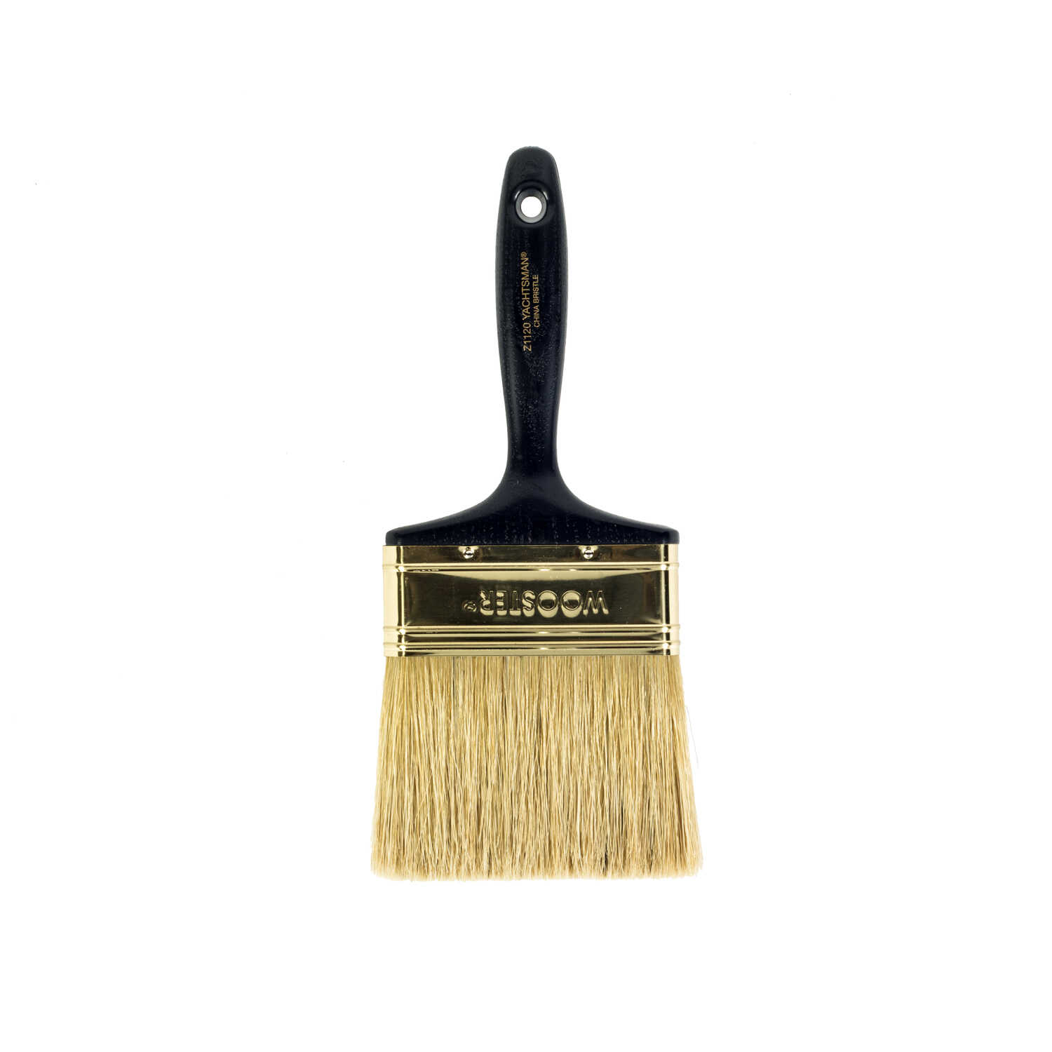 Wooster  Yachtsman  4 in. W Chiseled  Paint Brush
