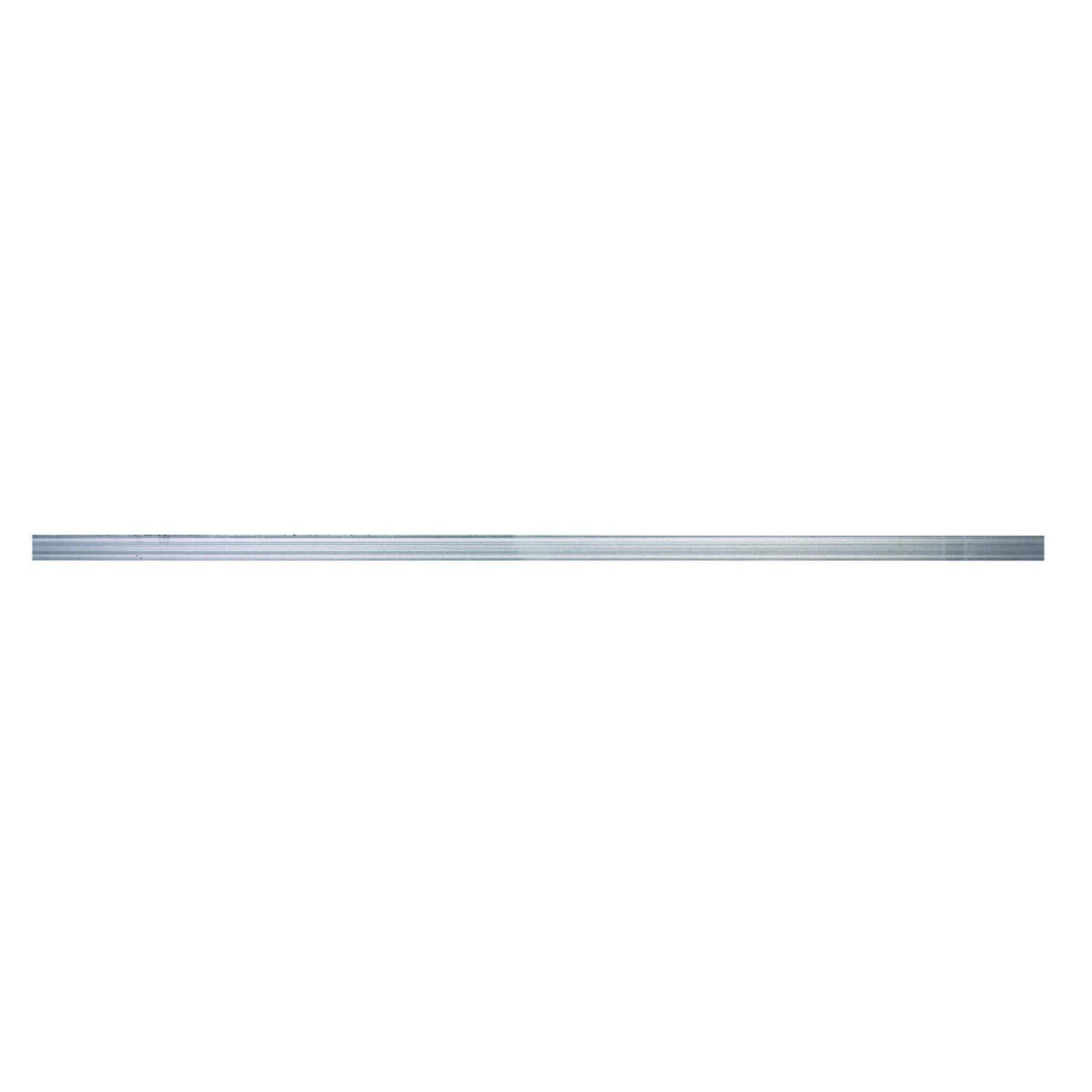Boltmaster 0.0625 in. x 1.25 in. W x 4 ft. L Weldable Aluminum Flat Bar 1 pk