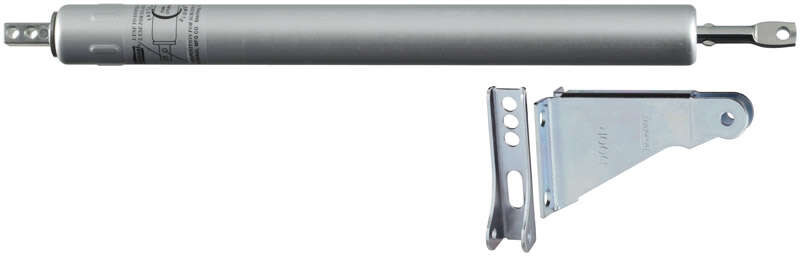 National Hardware  Aluminum  Aluminum/Steel  Hydraulic  Door Closer