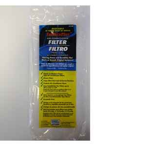 AC Safe  Factory Plus  13.5 in. W x 24 in. H x 1/4 in. D Air Conditioner Filter