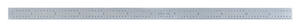 General Tools  12 in. L x 1/2 in. W Stainless Steel  Precision Rule