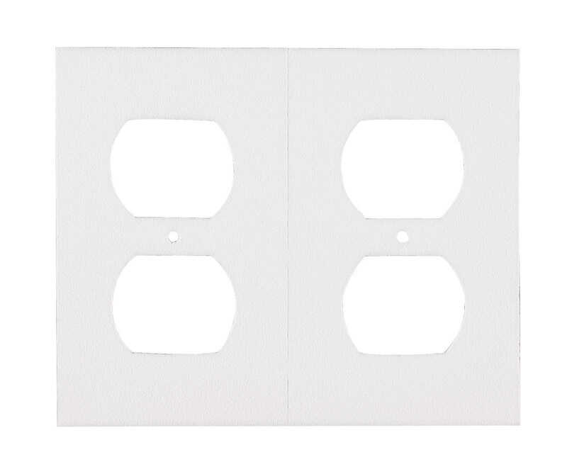 M-D Building Products  White  Foam  Wall Plate Sealers  6 pk