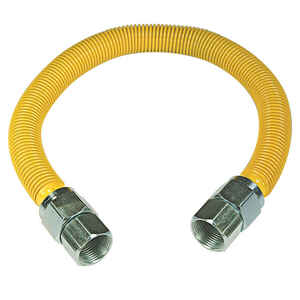 Brasscraft  3/4 in. FIP   x 3/4 in. Dia. FIP  Plastic  For Indoor and Outdoor Use  Gas Connector  48