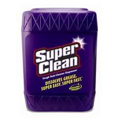 SuperClean  None Scent Cleaner and Degreaser  5 gal. Liquid