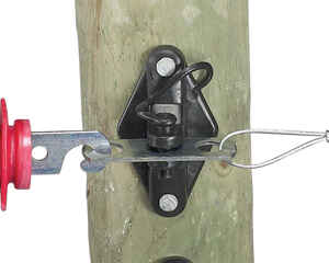 Dare Products  Gate Handle Anchor  Black