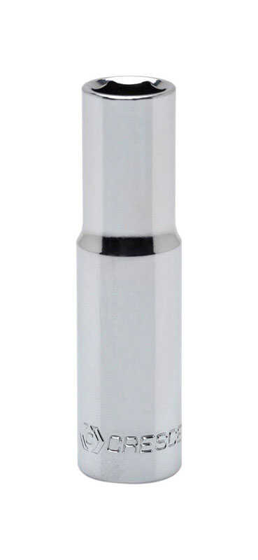Crescent  11 mm  x 3/8 in.  Metric  6  Deep  Socket  1 pc.